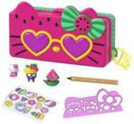Mattel Hello Kitty Piórnik Zestaw Plaża GVC39 GVC40