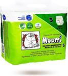 Muumi Baby Pieluchomajtki 5 Ekologiczne Maxi 7-15Kg 22Szt
