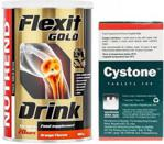 Nutrend Flexit Drink Gold 400G + Cystone 100 Tabs