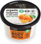 Organic Shop Organic Tangerine&Shea Butter Body Butter masło do ciała o zapachu mandarynek i masła shea 250ml