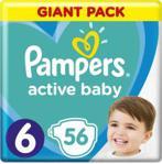 Pampers Active Baby GP rozmiar 6 56 pieluszek