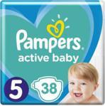 Pampers Active Baby Junior Rozmiar 5, 38Szt.