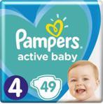 Pampers Active Baby VP rozmiar 4 49 pieluszek