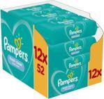 Pampers chusteczki pielęgnacyjne Fresh Clean 12x52 sztuk