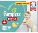 Pampers Pants, rozmiar 4, 72 pieluchomajtki