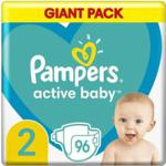 Pampers Pieluchy Active Baby Rozmiar 2, 96Szt.