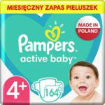Pampers Pieluchy Active Baby Rozmiar 4+ 164Szt.