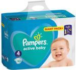 Pampers Pieluchy Active Baby rozmiar 4, 90 pieluszek