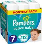 Pampers Pieluchy Active Baby rozmiar 7 112 pieluszek