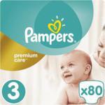 Pampers Pieluchy Premium Care JP rozmiar 3, 80 pieluszek