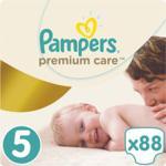 Pampers Pieluchy Premium Care MB rozmiar 5, 88 pieluszek