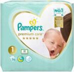 Pampers Pieluchy Premium Care rozmiar 1, 26 pieluszek