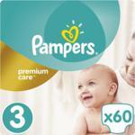Pampers Pieluchy Premium Care rozmiar 3, 60 pieluszek