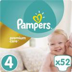 Pampers Pieluchy Premium Care rozmiar 4, 52 pieluszki