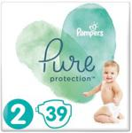 Pampers Pieluchy Pure Protection rozmiar 2, 39Szt.