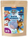 Paw Patrol Bath Bombs Musujące Kule Do Kąpieli 5X50G