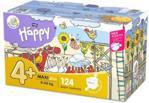 Pieluszki Bella Happy 4+ Maxi Plus 9-20Kg 124Szt