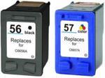 Print.ink Komplet tuszy do HP 56 + 57 DeskJet 5551 450ci 9650 TD-CC629A