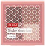 Pupa Milano Nude Obsession Paleta Cieni Do Powiek 002 Brown Nude