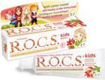 Rocs Pasta Kids Barberry Dla Dzieci W Wieku 3-7 Lat, Bez Fluoru