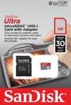 SanDisk Mobile Ultra microSDHC 32GB UHS-I (SDSDQUI-032G-U46)