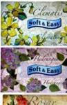 SOFT&EASY Chusteczki Kartonik Flowers 80 szt.