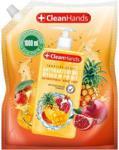 Świt Cleanhands Mydło Antybakteryjne W Płynie Owoce Tropikalne Zapas 1L