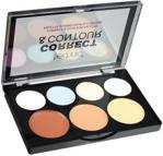 Technic Cream Colour Correct Contour 7 Shade Palette Zestaw Do Makijażu