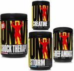 Universal Shock Therapy 840 + Storm 750 + 100% Beef Amino 200 + Creatine Micronized 500