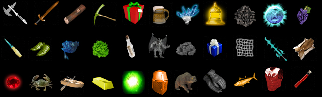hundreds of items