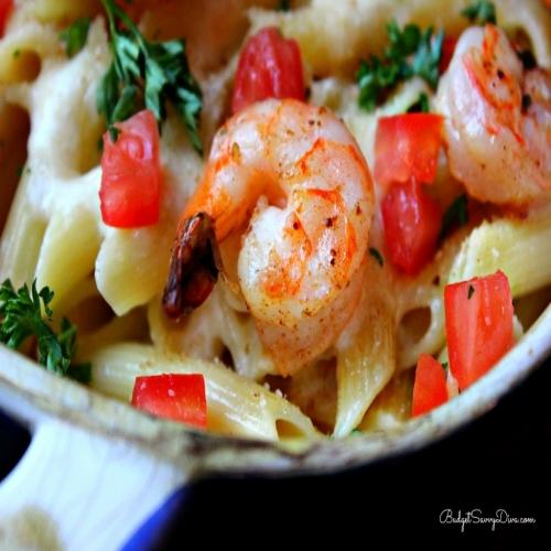 Olive Garden Baked Parmesan Shrimp Pasta Recipe