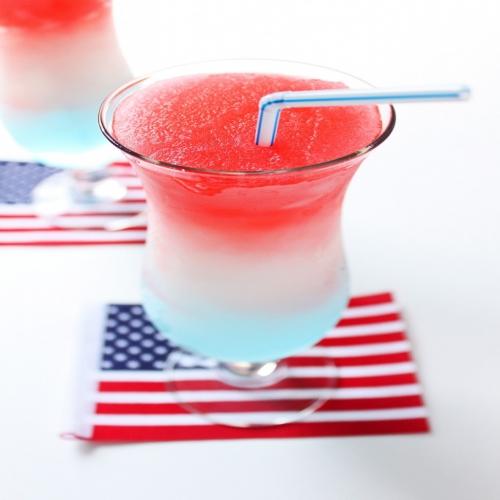 Frozen Bomb Pop Drink Recipe