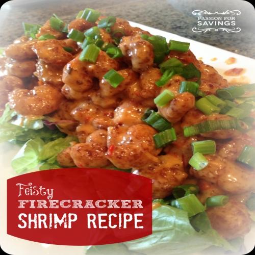 Feisty Firecracker Shrimp Recipe