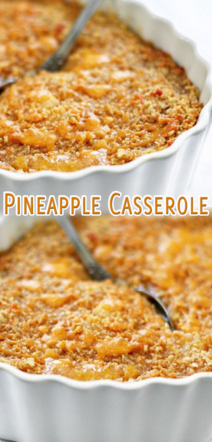 recipe: pineapple casserole recipe [26]