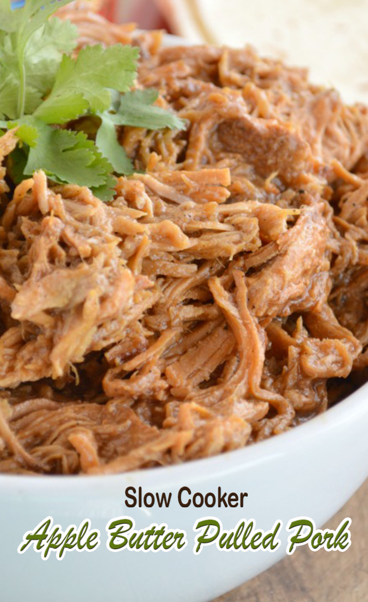 Watch Slow Cooker Apple Butter Pulled Pork video