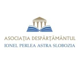 """ASOCIAŢIA DESPĂRŢĂMÂNTUL  """"IONEL PERLEA"""" ASTRA- SLOBOZIA. logo"""