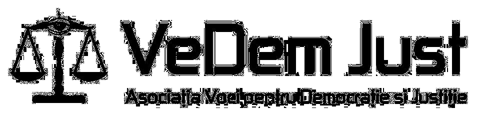 VeDem Just - ASOCIATIA VOCI PENTRU DEMOCRATIE SI JUSTITIE logo