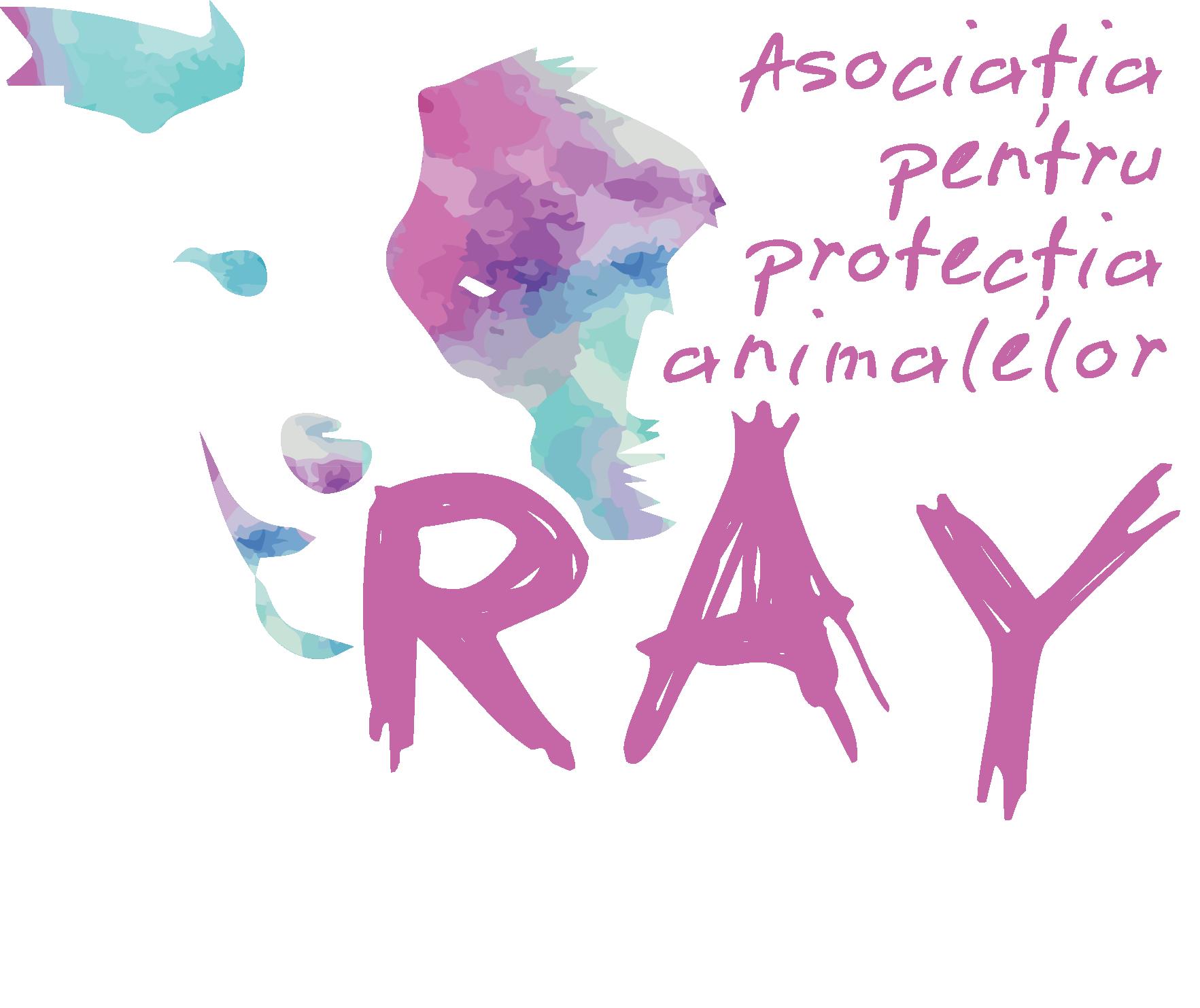 Asociația pentru protecția animalelor RAY logo