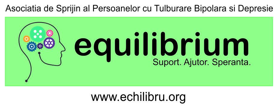 "Asociatia de Sprijin al Persoanelor cu Tulburare Bipolara si Depresie ""EQUILIBRIUM"" logo"
