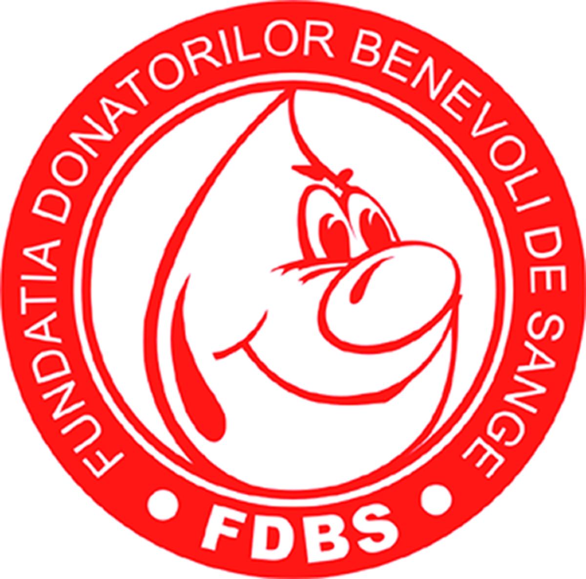 Fundația Donatorilor Benevoli de Sânge logo