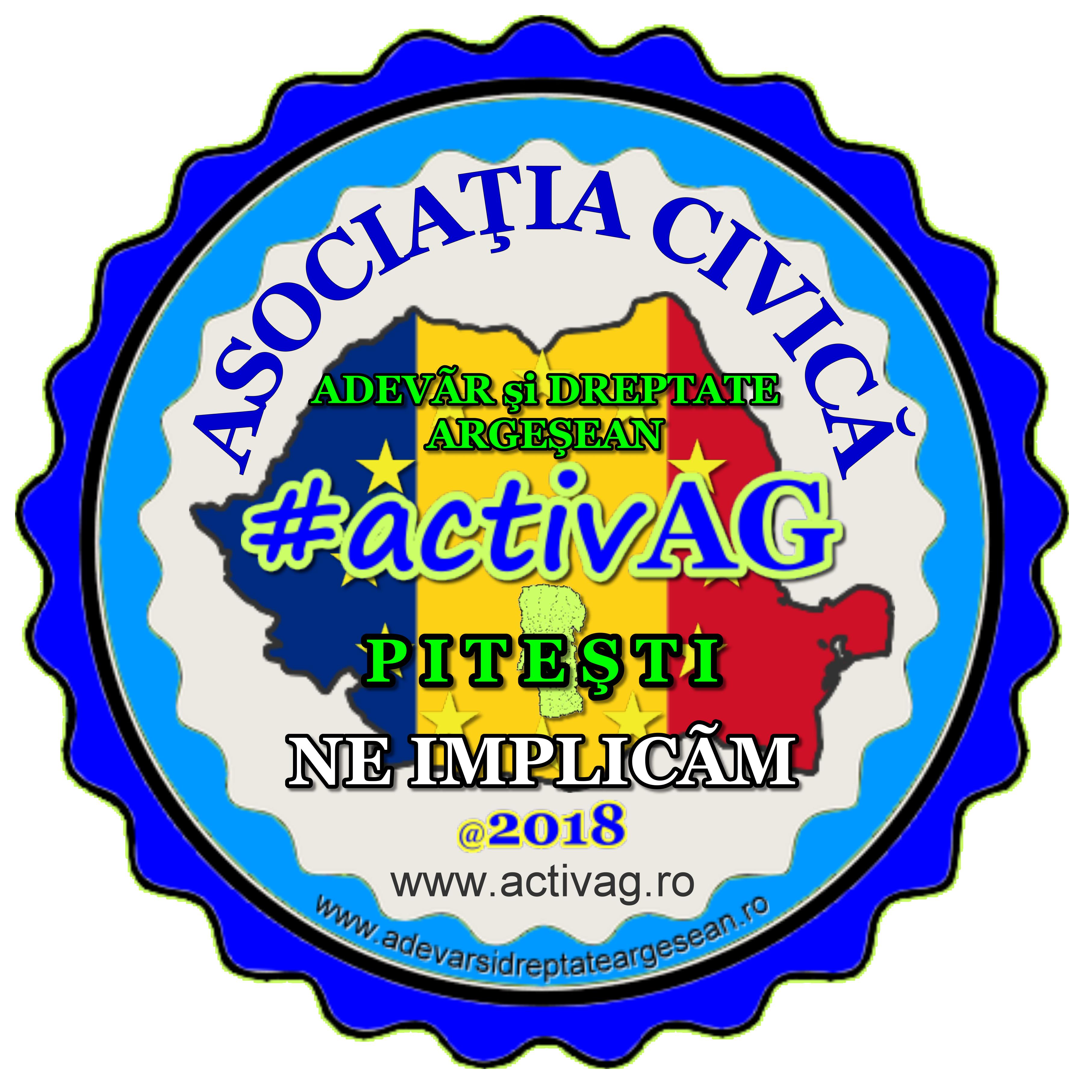 Asociația Civică Adevăr și Dreptate Argeșean #activAG Pitești logo
