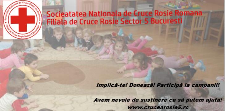 FILIALA DE CRUCE ROSIE SECTOR 5 BUCURESTI  logo
