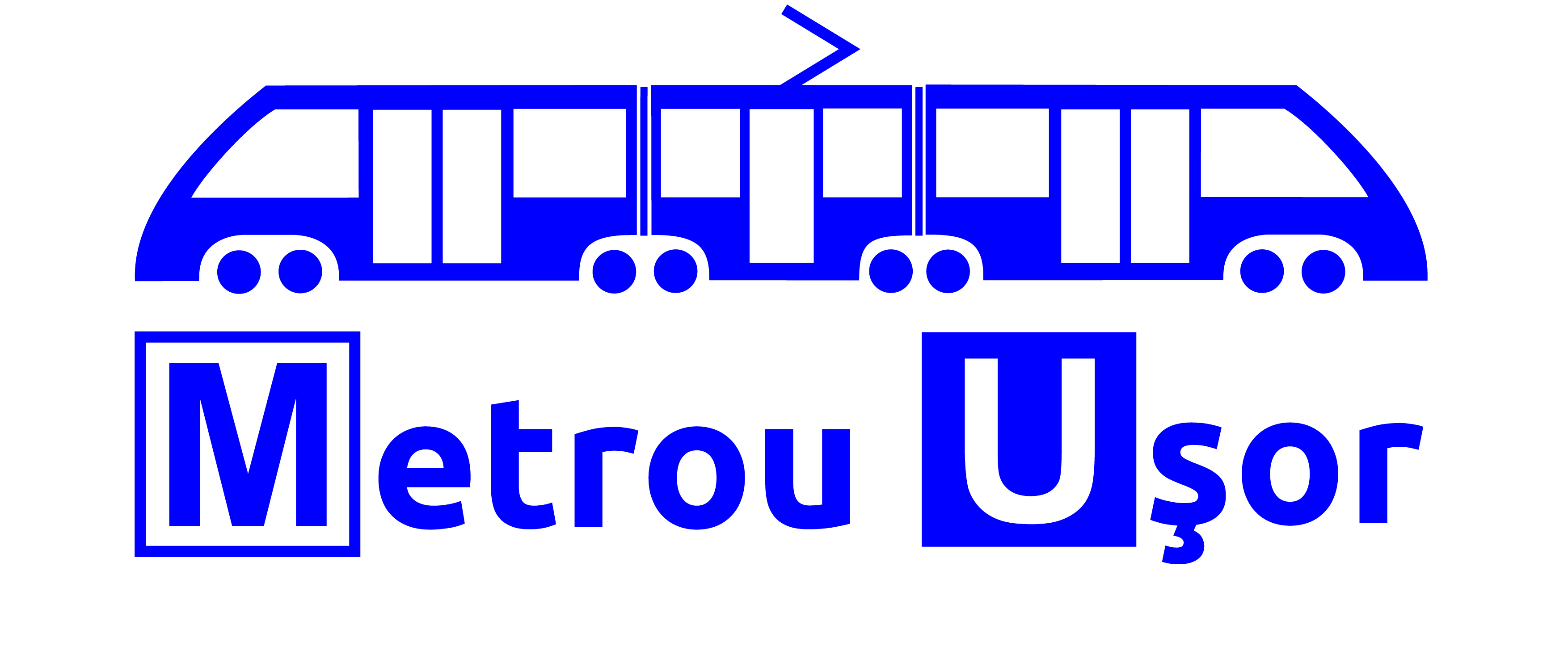 "Asociația ""Metrou Ușor"" logo"