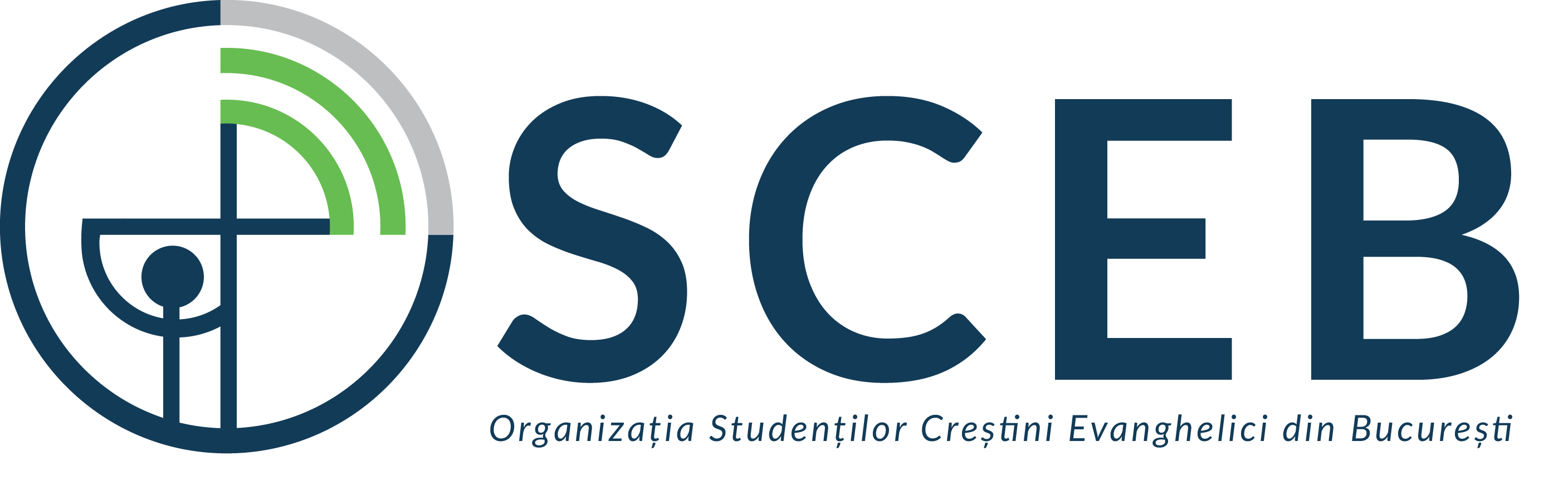 Organizatia Studentilor Crestini Evanghelici din Bucuresti (OSCEB) logo