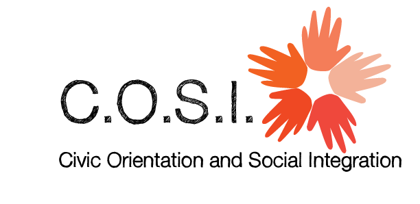 COSI (Civic Orientation and Social Integration) logo