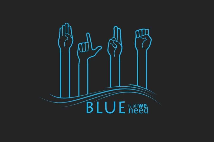Asociația Blue logo