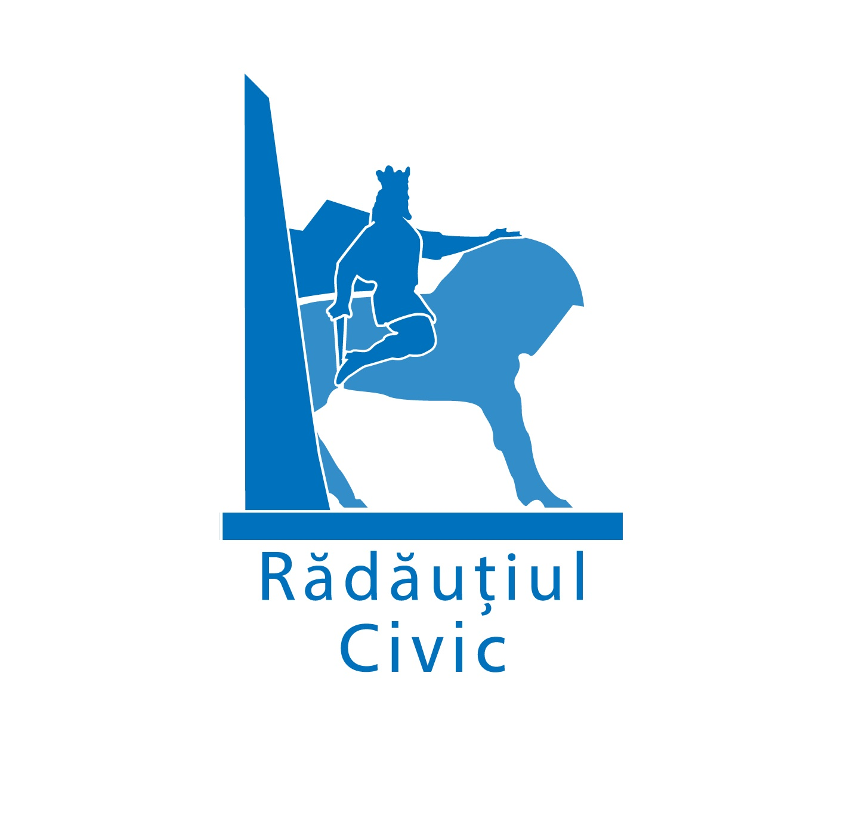"""Asociația """"Rădăuțiul Civic"""" logo"""