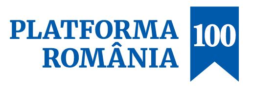 Asociația Platforma România 100 logo