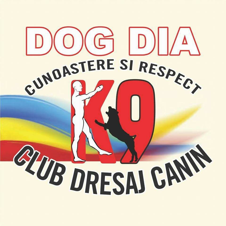 CLUB DRESAJ CANIN DOG DIA K9 logo