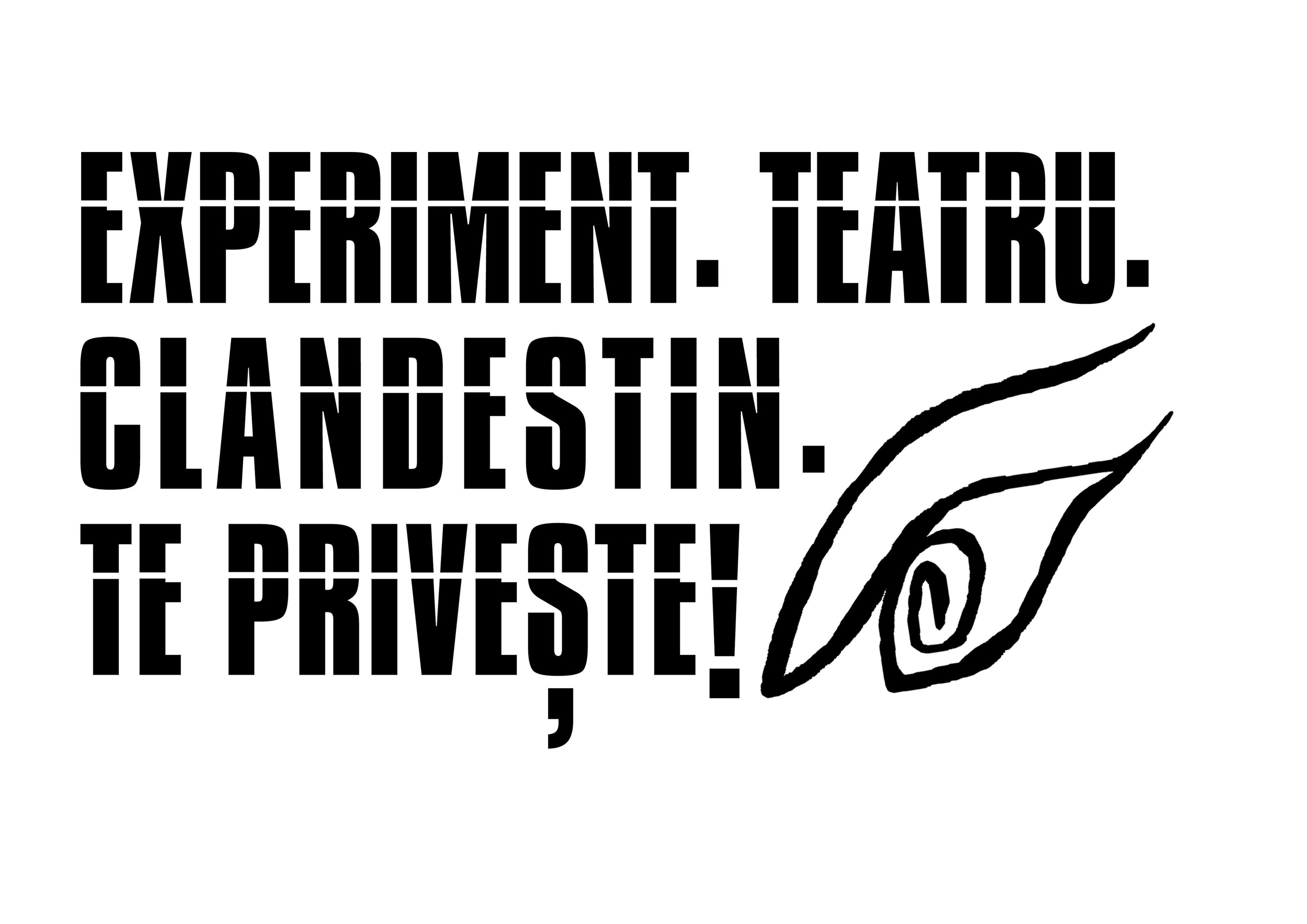 Asociația Culturală de Teatru Experimental Clandestin logo